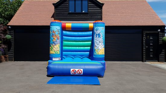 small sea world bouncy castle