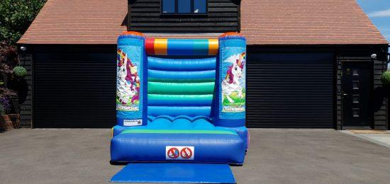 small unicorn bouncy castle