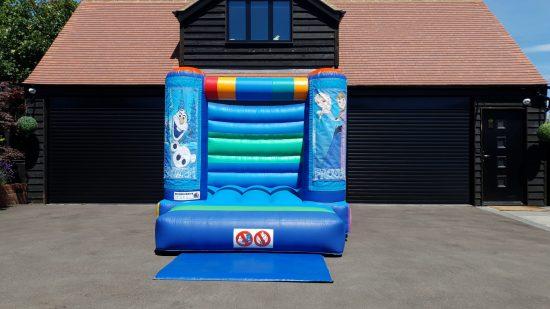 Small Frozen bouncy castle