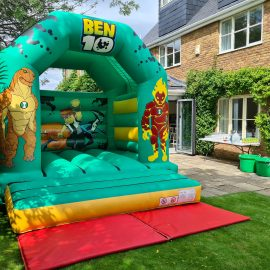 Ben10 bouncy castle